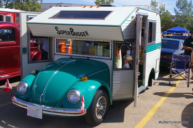 Le Super Bugger  une coccinelle camping car  2Tout2Rien