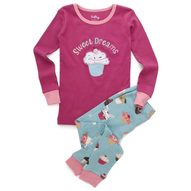 Hatley Cupcakes Sweet Dreams Kid Pajamas