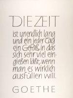 Kalligrafie Arbeiten von Karlgeorg Hoefer Calligraphy