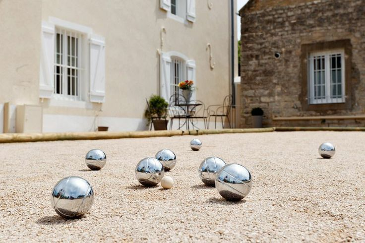 Pétanque is a popular game in France and is a form of boules.