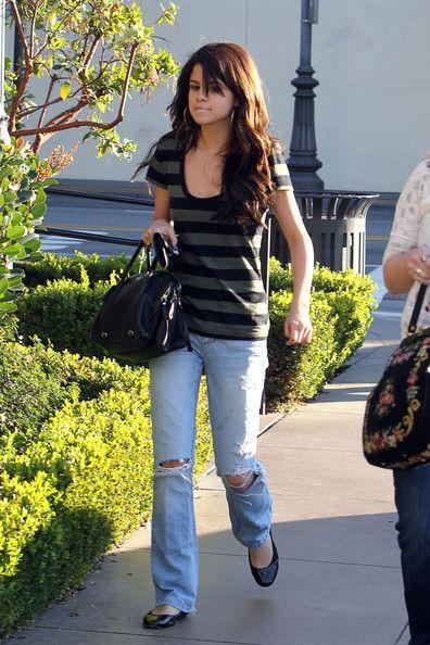 Selena Gomez at The Grove on December 13, 2010.