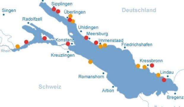 Bodensee Karte