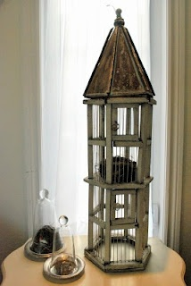 The Grower's Daughter: RECLAIMED RUSTICS ~ The Vintage Bird Cage