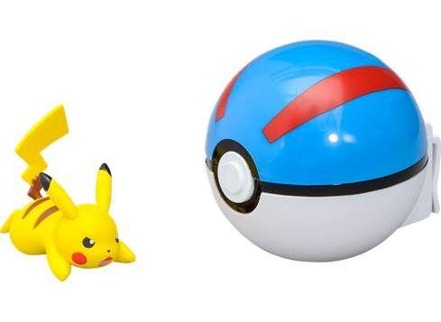 POKEMON Poké Ball T18869 Pikachu & GREAT BALL