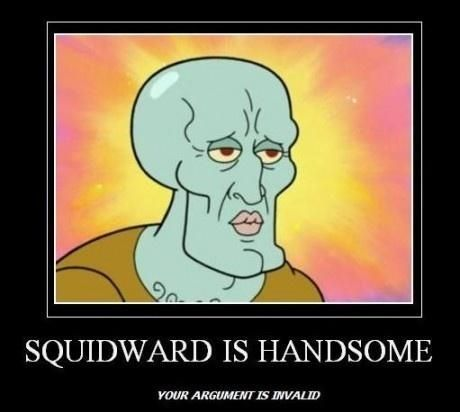 Handsome Squidward