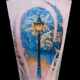 LINDA TATOO -- The Chronicles of Narnia | 50 Incredible Tattoos Inspired By Books From Childhood