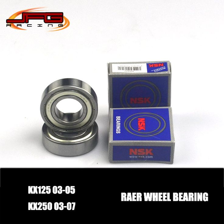 NSK Rear Wheel Hub Bearing Set KX125 03-05 KX250 03-07  MX Enduro Supermoto Dirt Bike Racing Motorcycle