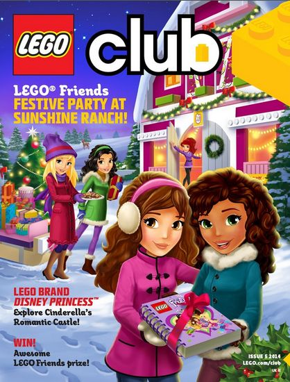 LEGO Friends magazine Issue 5 2014