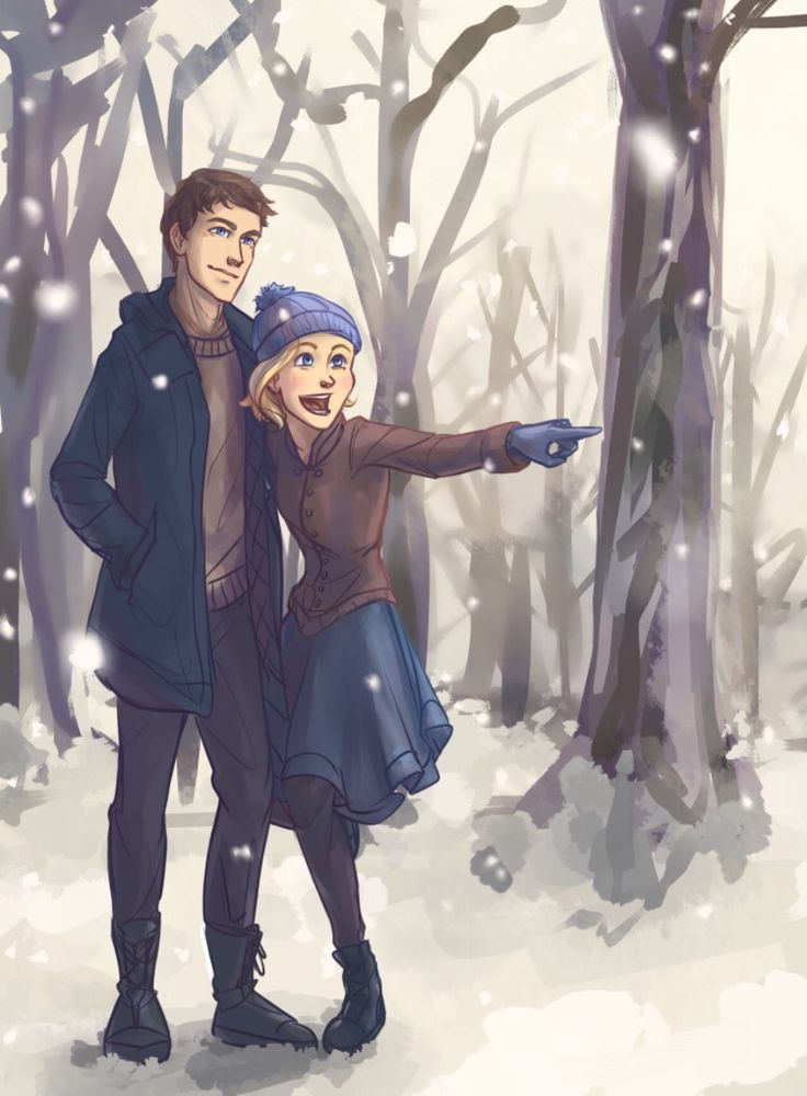Lunar Chronicles art by: taratjah (via tumblr) aww Cress seeing the world with Thorne!