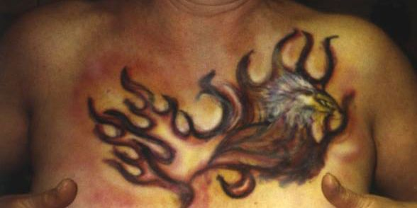 22 Best Eagle Fire Traditional Tattoo Images On Pinterest