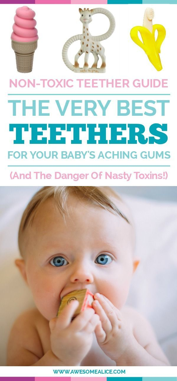 18 best non-toxic teething toys
