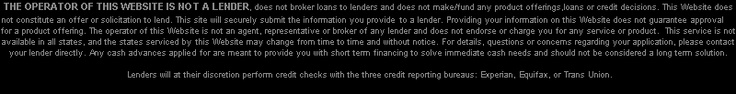 Quick  Payday Loans Online
