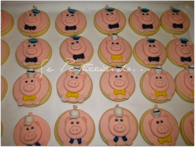 Se Pasticciando...: Tre porcellini....i biscotti