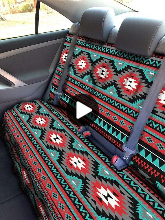 Aztec Car Seat Covers Back Seat Car Cover Tribal Back Seat Cover