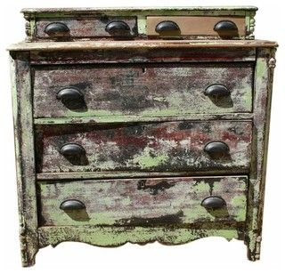 Green Painted Dresser - contemporary - dressers chests and bedroom armoires - new york - by Second Shout Out