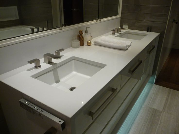 17 best images about engineered quartz bathrooms on for Bathroom quartz vanity tops