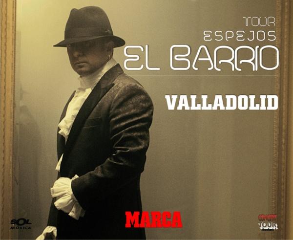 Feria de Valladolid acoge este fin de semana un concierto de El Barrio