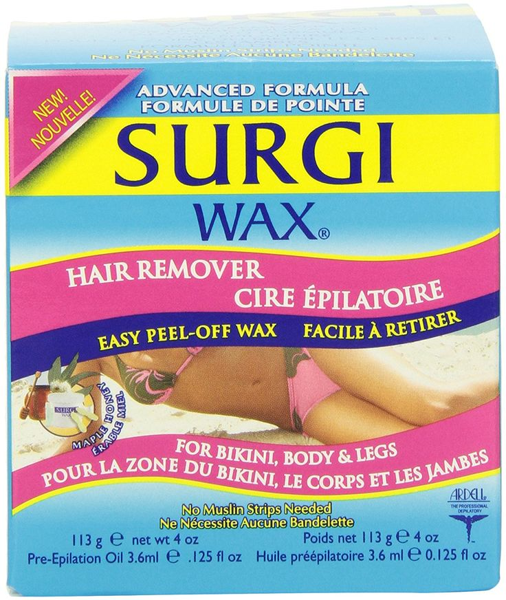 Surgi-wax Hair Remover For Bikini, Body and Legs, 4-Ounce Boxes (Pack of 3) * Click image to review more details. (Note:Amazon affiliate link)