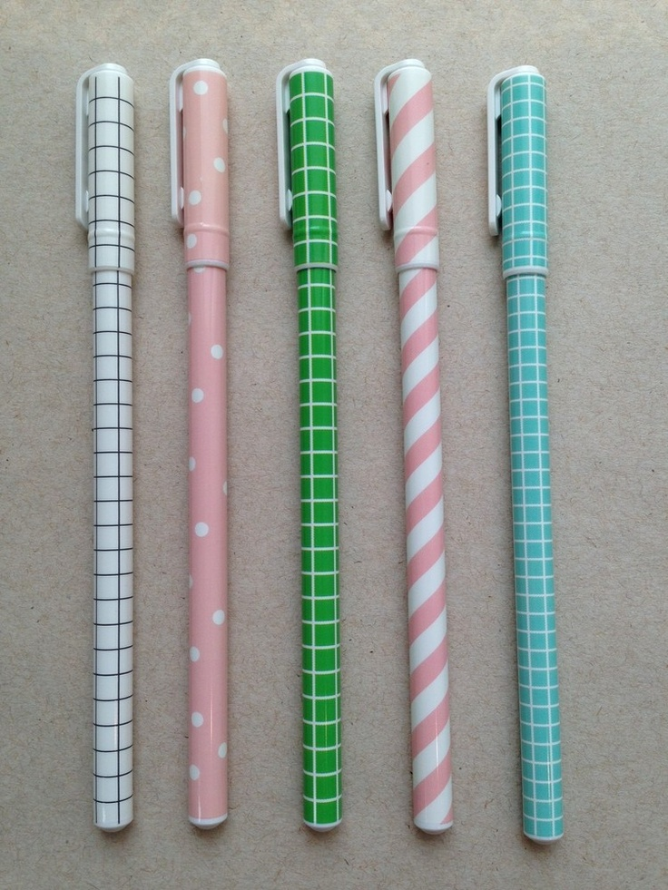 Love these Patterned Pens at Urbanic