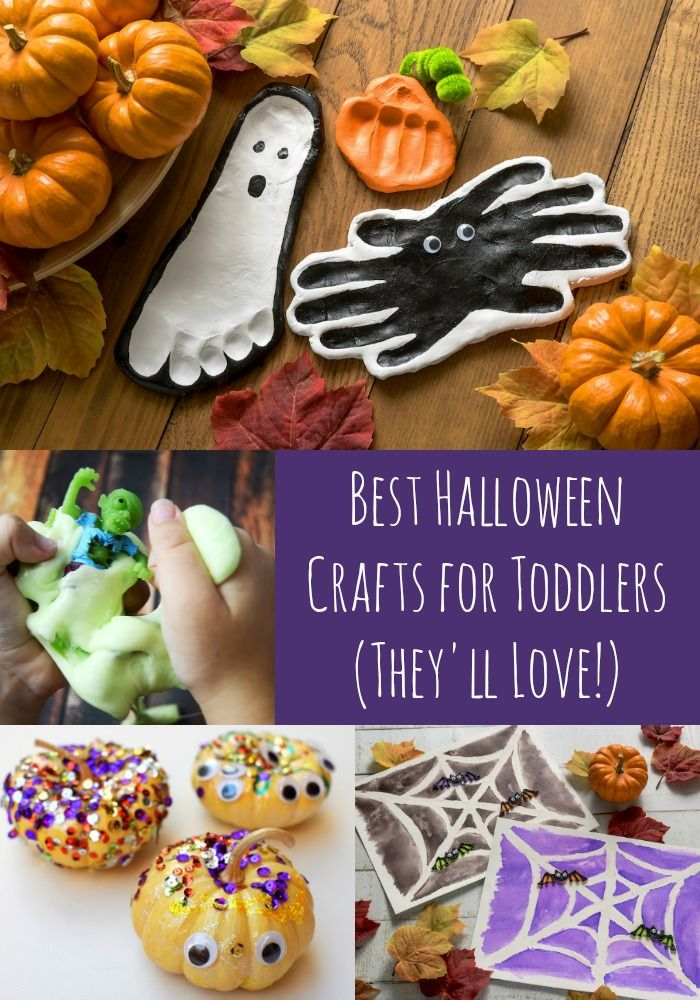 The Ultimate List Of Halloween Crafts For Toddlers Best Of