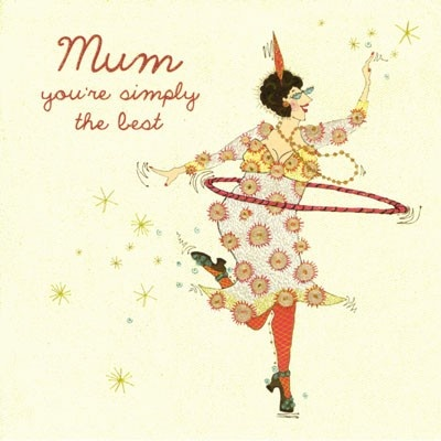 Mum, you're simply the best...priced at £2.70 at Orchardcards.co.uk