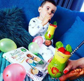 Dzień dziecka z zielonymi koktajlami