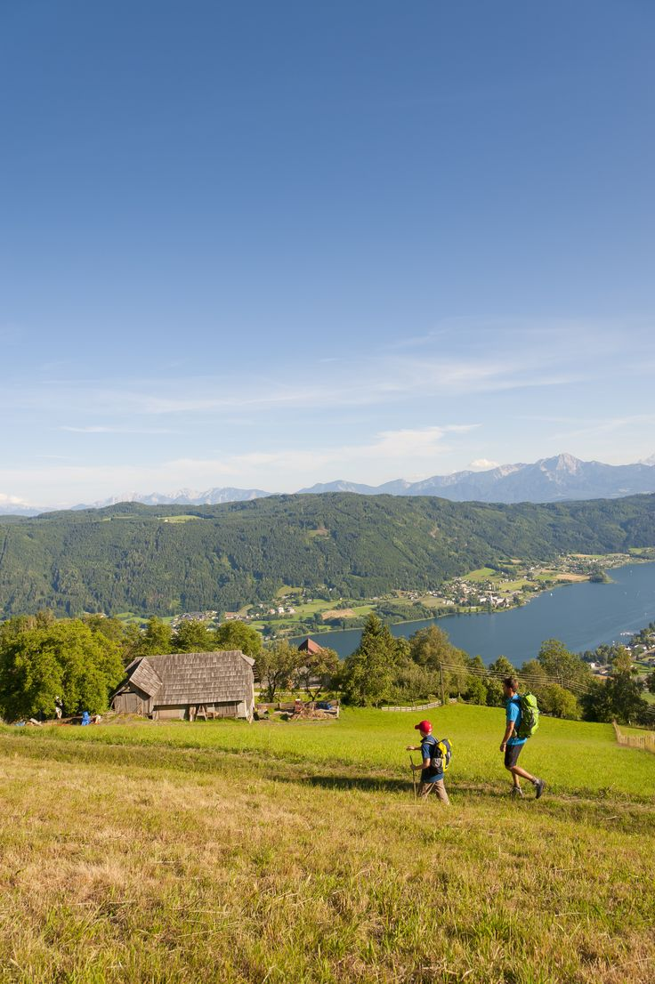(c) Franz Gerdl #hiking #blukesky #lake #Ossiach #hiking #Sport #carinthia