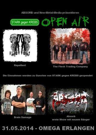 New-Metal-Media der Blog: Der New-Metal-Media Eventtipp: STARK gegen KREBS Open Air #news #festival #metal