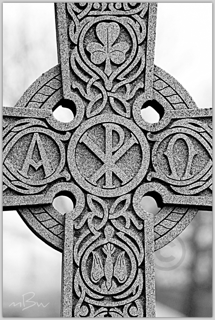 Celtic Stone Cross
