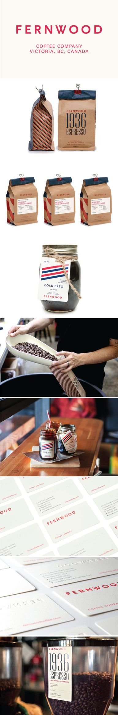Fernwood Coffee PD #packaging #design