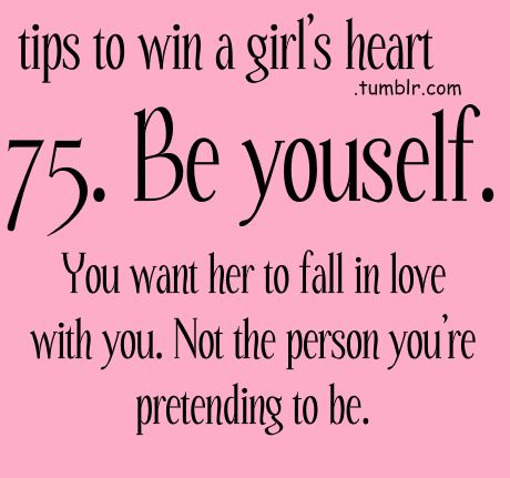 Dating new girl tips