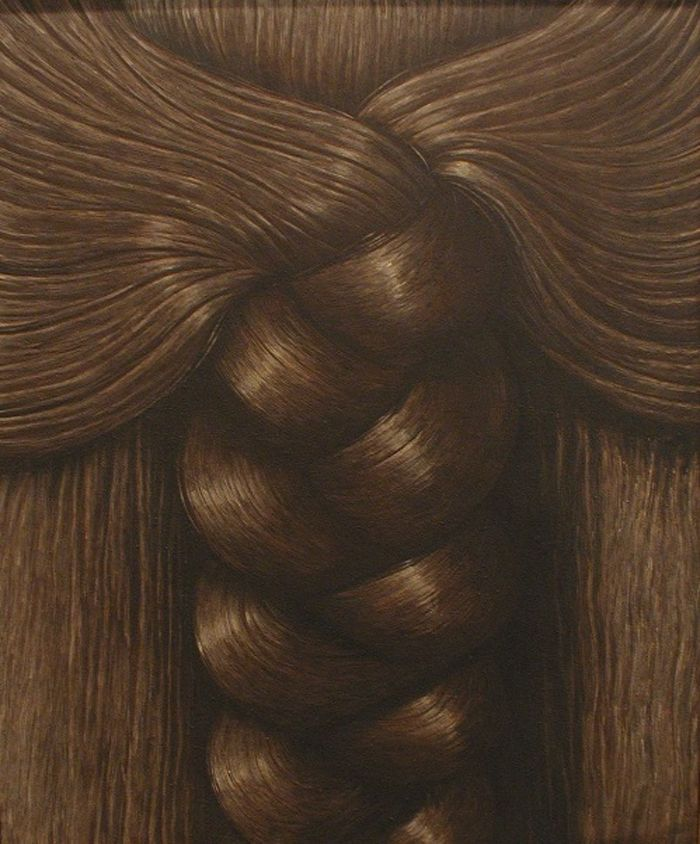 """""""The Braid"""" Painted by Dominico Gnoli"""