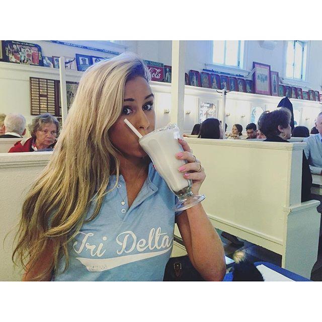 Tri Delta Baseball Henley | Recruitment Ideas | Bid Day Shirts | Sorority Apparel | Delta Delta Delta