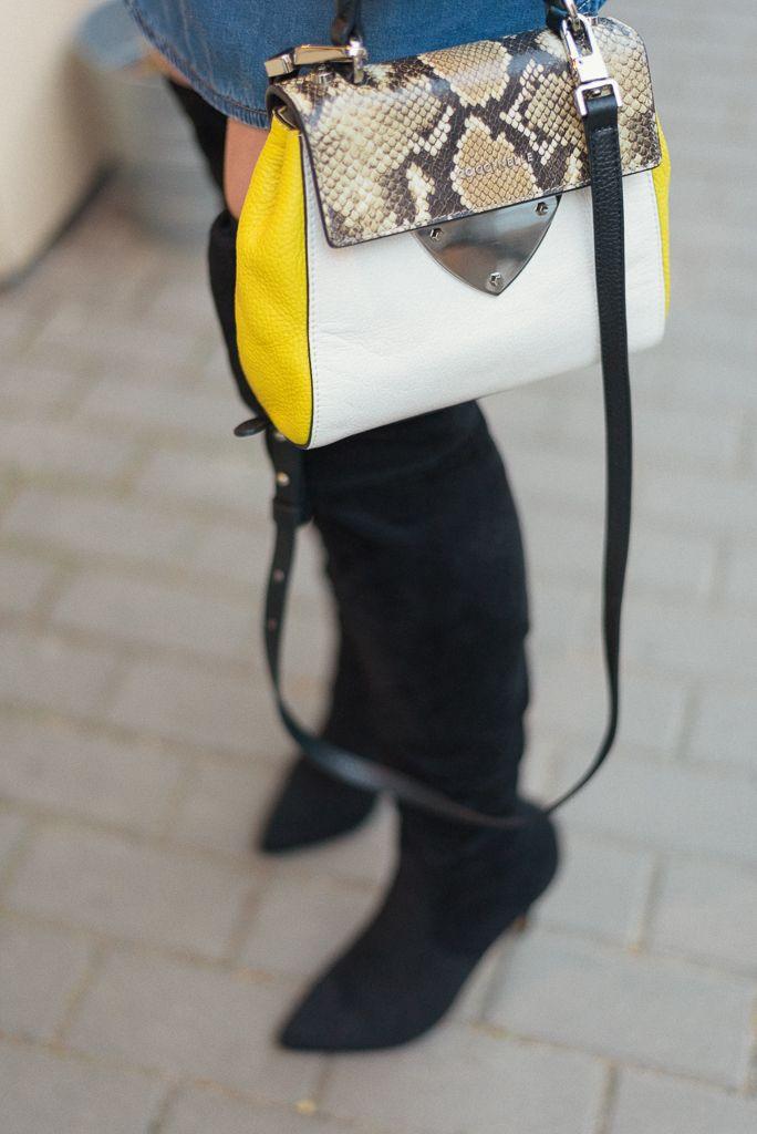 #bag #heels