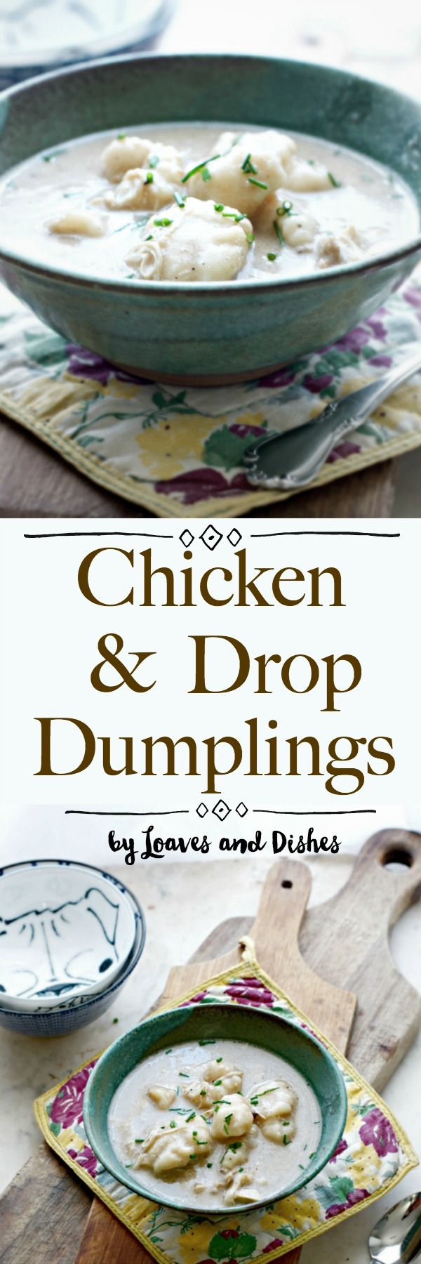 This recipe features drop dumplings for a classic southern creamy from scratch recipes for Homemade Chicken and Drop Dumplings. Something like what Pioneer Woman and Paula Deen make