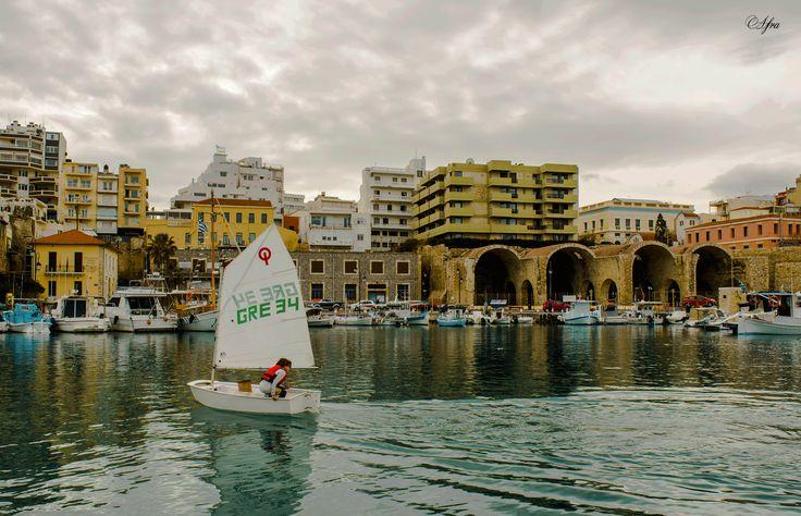 Heraklion port,Crete. #crete #heraklion