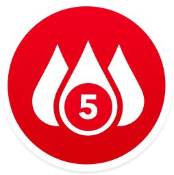 Congratulations on reaching the 5 gallon donation mark, Connie! - by American Red Cross