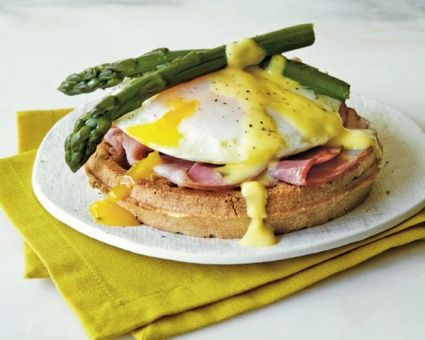 Eggs Benedict Waffle Recipe