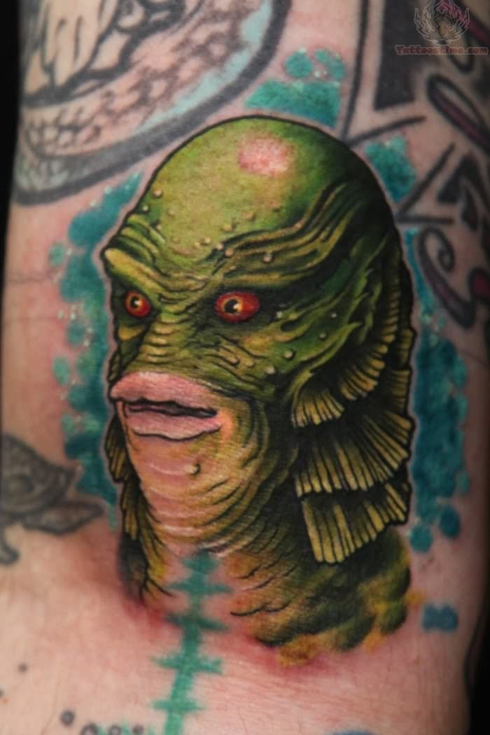 ... img src http www tattoostime com images 148 creature monster tattoo