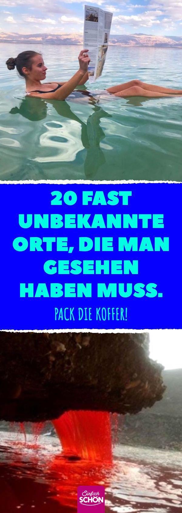 20 endroits presque inconnus, qu'il faut avoir vus. Emballez les valises! #kuriosit …   – Einfach schön