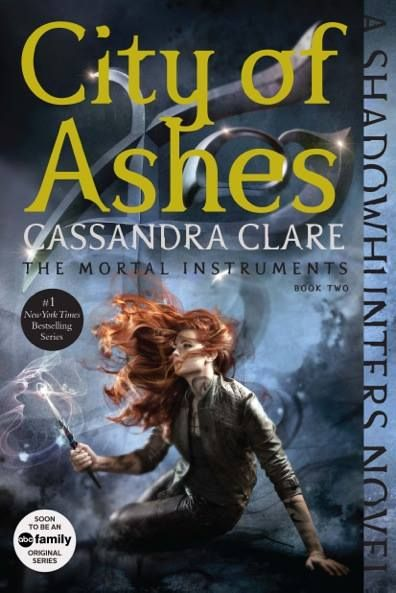 New cover for City of Ashes ...   the mortal instruments, book, cover, city of ashes, clarissa 'clary' fray