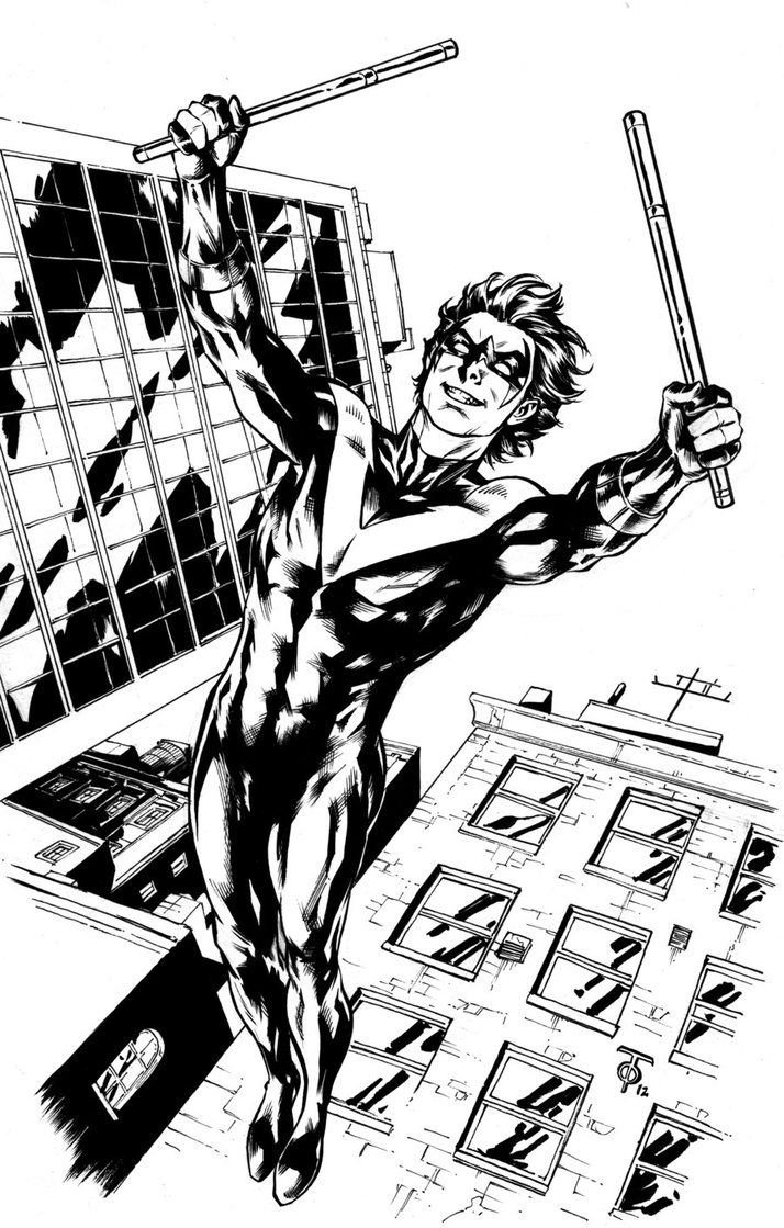 DC New 52 NIGHTWING and BATGIRL by ScottMcDaniel on DeviantArt ...