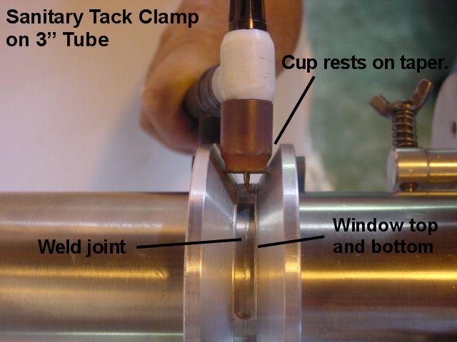 Sanitary Tack Tube Clamps
