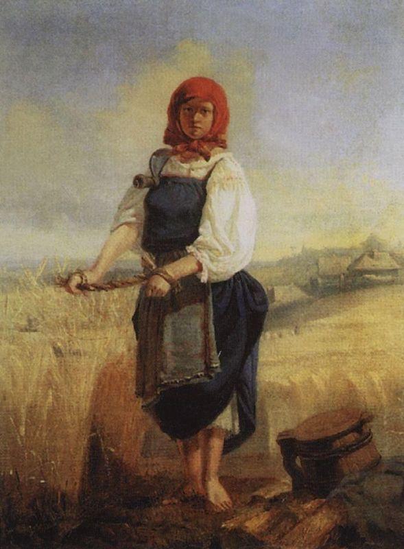 Жница Васнецов  vs. сеятель Ван Гог