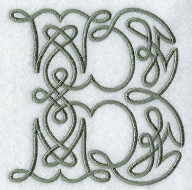 Embroidered Flour Sack Towel Celtic Knotwork by creationsbme, $ 10.99