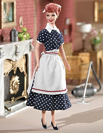 "My favorite of the Barbie ""I Love Lucy"" doll collection"