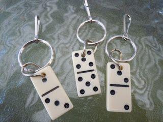 Rosely Pignataro: Reciclando peças de dominó...