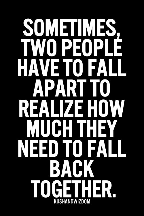falling apart relationship messages and quotes