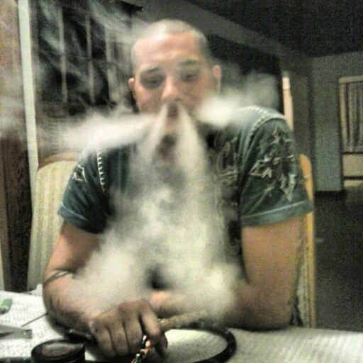 Hookah smoke trick...angry dragon! Come to Lux Lounge in ...