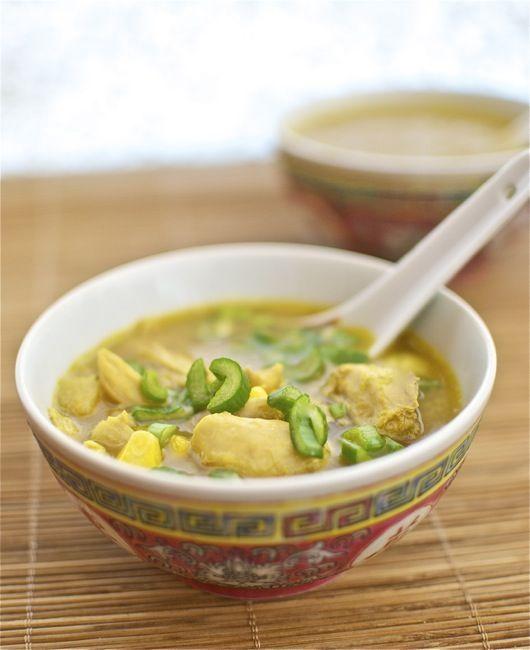 Sopa de maíz y pollo, receta china con Thermomix « Thermomix en el mundo